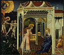 Giovanni di Paolo The Annunciation and Expulsion from Paradise.jpg