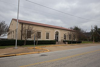 Gladewater, Texas - U.S. Post Office in Gladewater