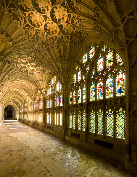 File:Gloucester Cathedral Cloisters 2013.jpeg