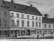 Gluck lived and died in the Wiedner Hauptstraße Nr. 32 in Vienna (Source: Wikimedia)