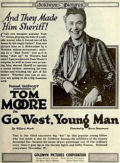 <i>Go West, Young Man</i> (1918 film) 1918 silent film