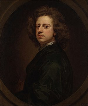 Godfrey Kneller - Sir Godfrey Kneller - Self portrait