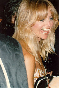 Goldie Hawn attend the 1989 Academy Awards ceremony