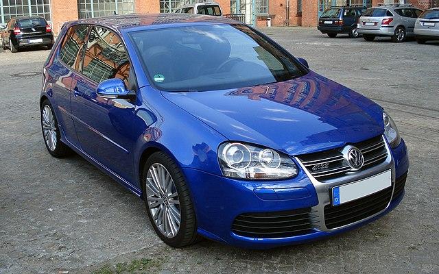 Image of Golf V R32 vr blue