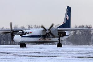 Lionair Flight 602 - An Antonov AN-24RV similar to the one involved.