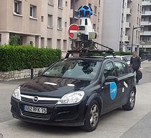 Voiture Google Street View à Grenoble