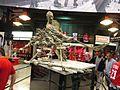 Gordie Howe Monument, Joe Louis Arena, Detroit, Michigan (21082612433).jpg