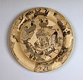 Gorgon Painter - Attic Black-Figure Plate with Gorgon's Head and Bands of Animals - Walters 48215.jpg