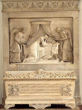 Maximiliana of Bavaria - Tomb of Maximiliana at the Theatine Church, Munich.