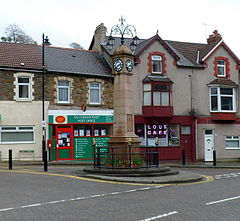 Grade II listed Senghenydd War Memorial - geograph.org.uk - 2922796.jpg
