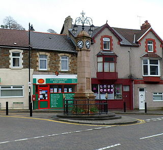 Senghenydd Human settlement in Wales