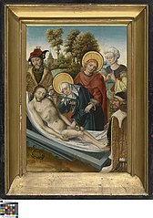Entombment, one of the Seven Sorrows of Mary