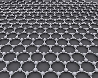 Graphene - Graphene is an atomic-scale hexagonal lattice made of carbon atoms.