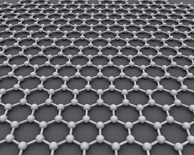 Graphene atomic structure could be used to boost battery charging time