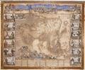 Graverad och handkolorerad karta över Asien från 1700 cirka - Skoklosters slott - 95151.tif