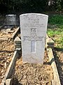 Gravestone of Driver Harold Bater of the Royal Field Artillery at St Mary's Church, Whitchurch, April 2020.jpg