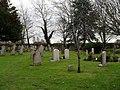 Gravestones in the churchyard at St James, Birdham - geograph.org.uk - 1635101.jpg