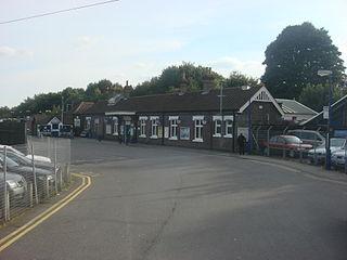 Great Missenden railway station Railway station in Buckinghamshire, England