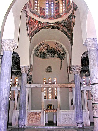 Church of the Holy Apostles, Athens - Interior