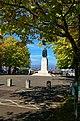 Greenwich Park - Blackheath Avenue - View NW towards Wolfe Statue.jpg