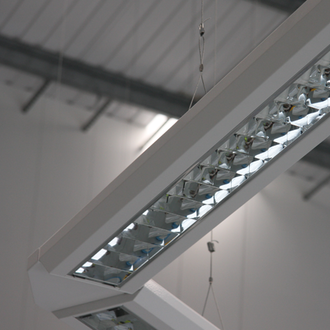 Gripple - The Gripple product range evolved when the joiner was rotated through 90˚ and combined with wire rope to support substantial loads and suspend a variety of industrial applications, such as lighting, piping, HVAC, false ceilings and signage.