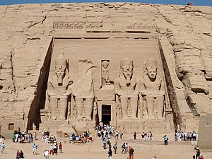 Great Temple at Abu Simbel, Egypt