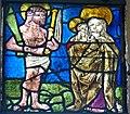 Grongörgen Wallfahrtskirche - Nordfenster 1d Schmerzensmann Madonna.jpg