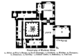 Groundplan of muckross abbey Royal Society of Antiquaries of Ireland.png