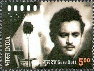 Guru Dutt - Dutt on a 2004 stamp of India