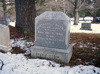 Gustavus Cheyney Doane - Gravestone, Bozeman, MT