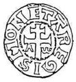 Guy de Lusignan (1186–1192) jeruzsálemi király pénze.png