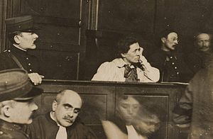Hélène Brion - Brion during the trial