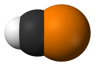 Methylidynephosphane - Image: HCP from MW IR 3D vd W