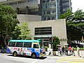 HK 屯門 Tuen Mun 康恩園 The Providence Garden for Rehab 震寰路 82號 Tsun Wen Road crossway n minibus body ads DAB July 2016.jpg
