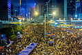 HK Occupy Central in Harcourt Eoad 20141001.jpg