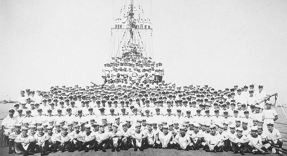 HMAS Sydney 1934 crew