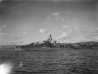 HMS Urchin (R99) - Image: HMS Urchin 1943 IWM A 19463