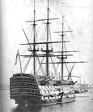 Flagship - HMS ''Victory'', flagship of the First Sea Lord of the Royal Navy