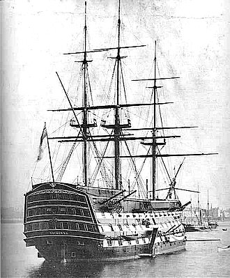 Flagship - HMS Victory, flagship of the First Sea Lord of the Royal Navy