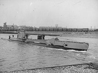 HMS <i>Untamed</i> U-class submarine launched 1942