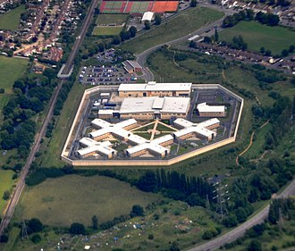 HM Prison Bronzefield - Image: HM Prison Bronzefield aerial 2011