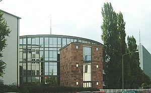 Eurovision Song Contest 1957 - Großer Sendesaal des hessischen Rundfunks, Frankfurt am Main - venue of the 1957 contest.