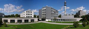Ludwigshafen University of Applied Sciences - Panorama view of the campus