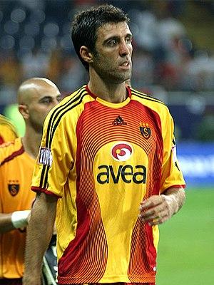 Hakan Şükür - Şükür playing for Galatasaray in 2006