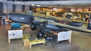 National Air Force Museum of Canada - Handley Page Halifax Mk. VII