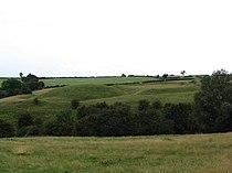 Hallaton Castle earthworks.jpg