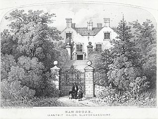 Ham house, Llantwit Major, Glamorganshire