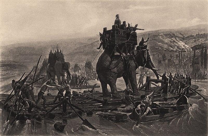 File:Hannibal traverse le Rhône Henri Motte 1878.jpg