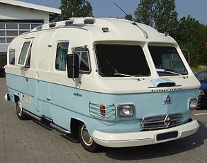 A Hanomag-Henschel Orion, a recreational vehicle