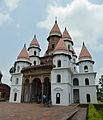 Hanseswari Mandir - South-east View - Bansberia Royal Estate - Hooghly - 2013-05-19 7531-7532.JPG